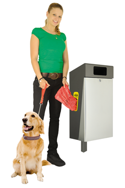 belloo-combi-sevi dog waste bin
